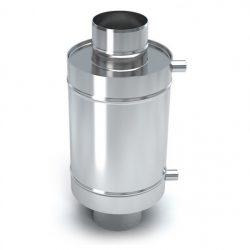 Теплообменник 12 л  d 115 нерж 0,8 мм AISI 439 (УМК)