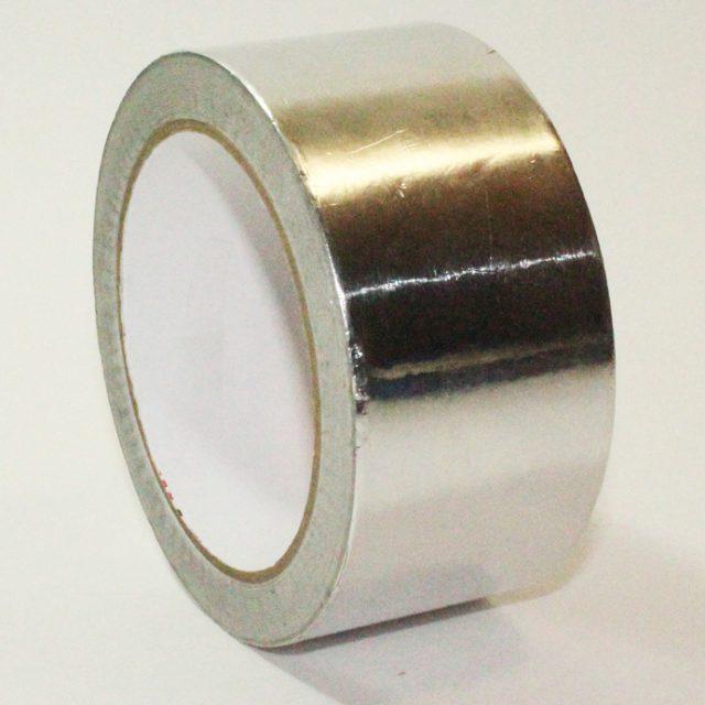 Скотч-фольга алюминиевый 50м*50мм