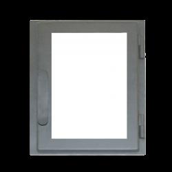 Дверь печная ДВ285-1С стальная  (Мета)