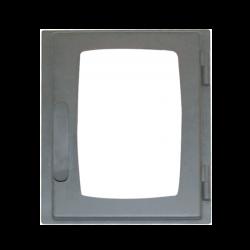 Дверь печная ДВ285-1Б стальная  (Мета)