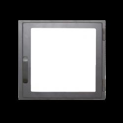 Дверь печная ДЕ424-1С стальная  (Мета)