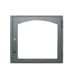 Дверь печная ДЕ424-1А стальная  (Мета)