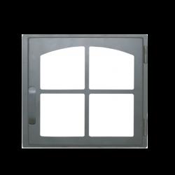 Дверь печная ДЕ424-1К стальная  (Мета)