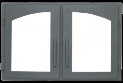 Дверь печная Мета ДВ544-2А стальная