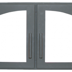 Дверь печная ДВ544-2А стальная  (Мета)