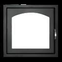 Дверь каминная ДК 555 1А