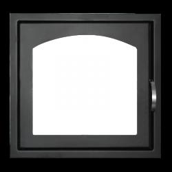 Дверь каминная ДК 555 1А стальная (Мета)