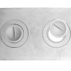 Плита П2-1 двухконфорочная (585*340 мм) Балезино