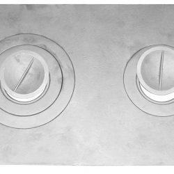 Плита П2-3 двухконфорочная (710*410 мм) Балезино