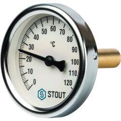 STOUT Термометр биметаллический погружной