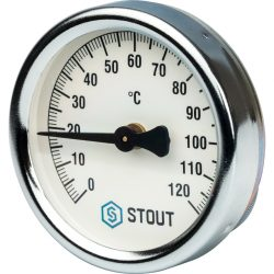 STOUT Термометр биметаллический накладной