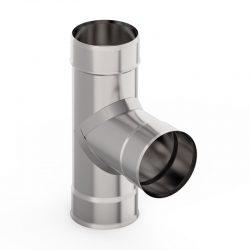 Тройник  90 гр.  80 0,5 мм AISI 439 (УМК)