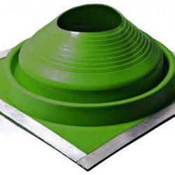 Проходник кровельный КОМБИ №4 (75-160) EPDM зелёный