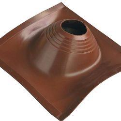 Проходник кровельный угловой №2 ПРОФИ (200-280) силикон коричневый