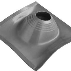 Проходник кровельный угловой №2 ПРОФИ (200-280) силикон серый