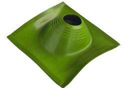 Проходник кровельный угловой №2 ПРОФИ (200-280) силикон зелёный