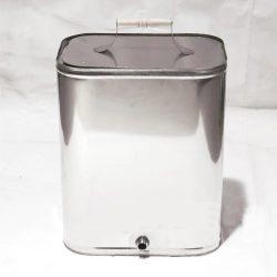 Бак навесной на печь 40 л нерж 0,8 мм AISI 439 (УМК)