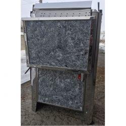 Электрокаменка ЭНУ с испарителем в облицовке (талькокварцит) Очаг